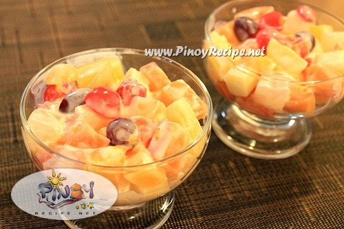 Cream Cheese Fruit Salad Recipe Choose Philippines Find Discover
